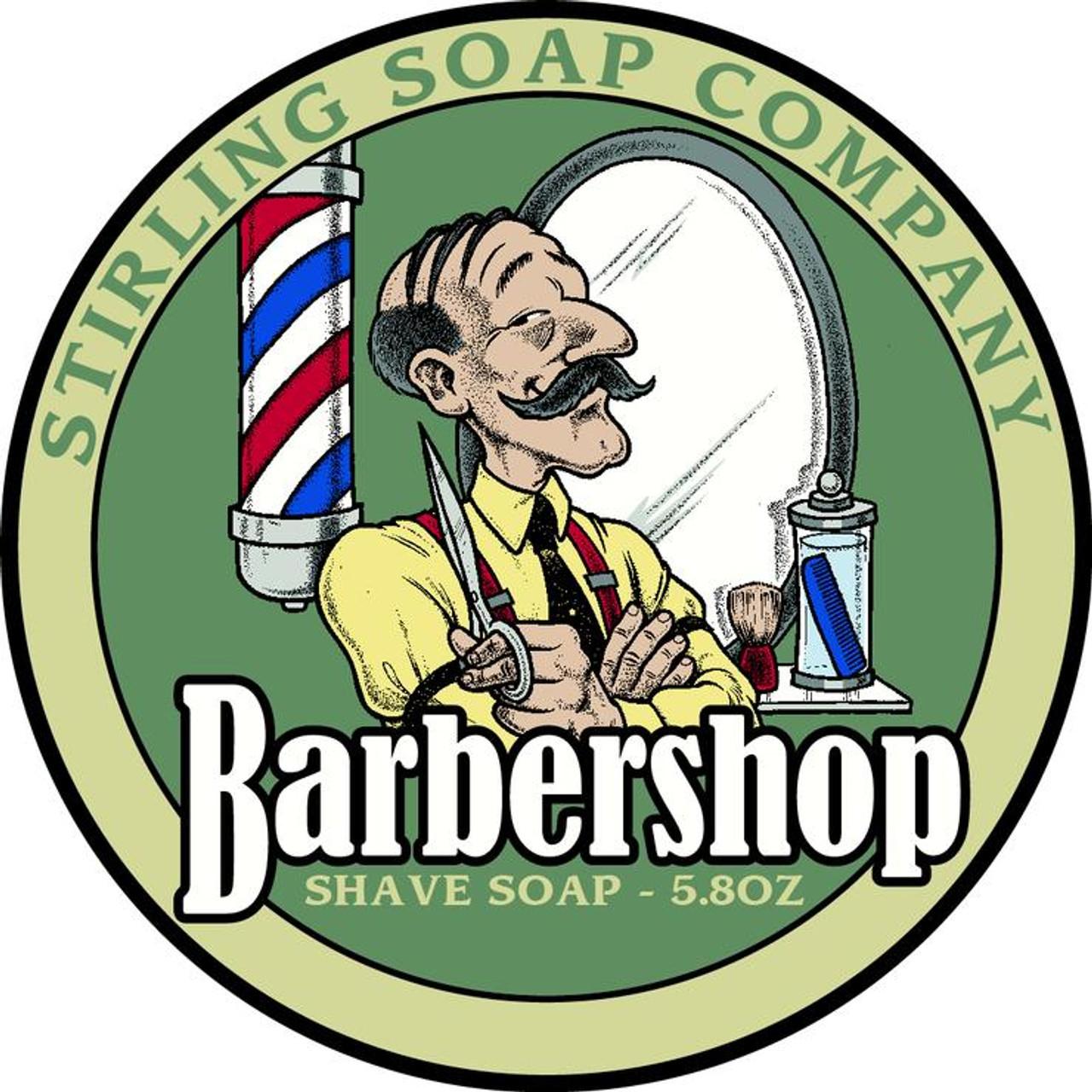 Stirling Barbershop Shave Soap 5.8oz