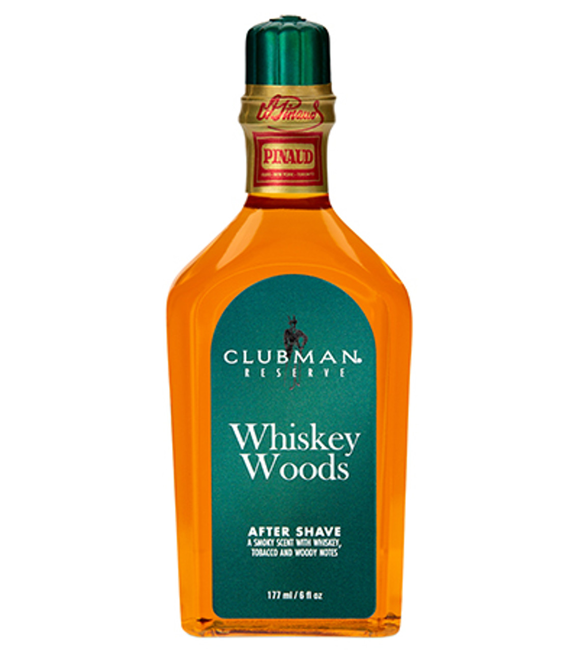 Clubman Whiskey Woods Aftershave 6oz.