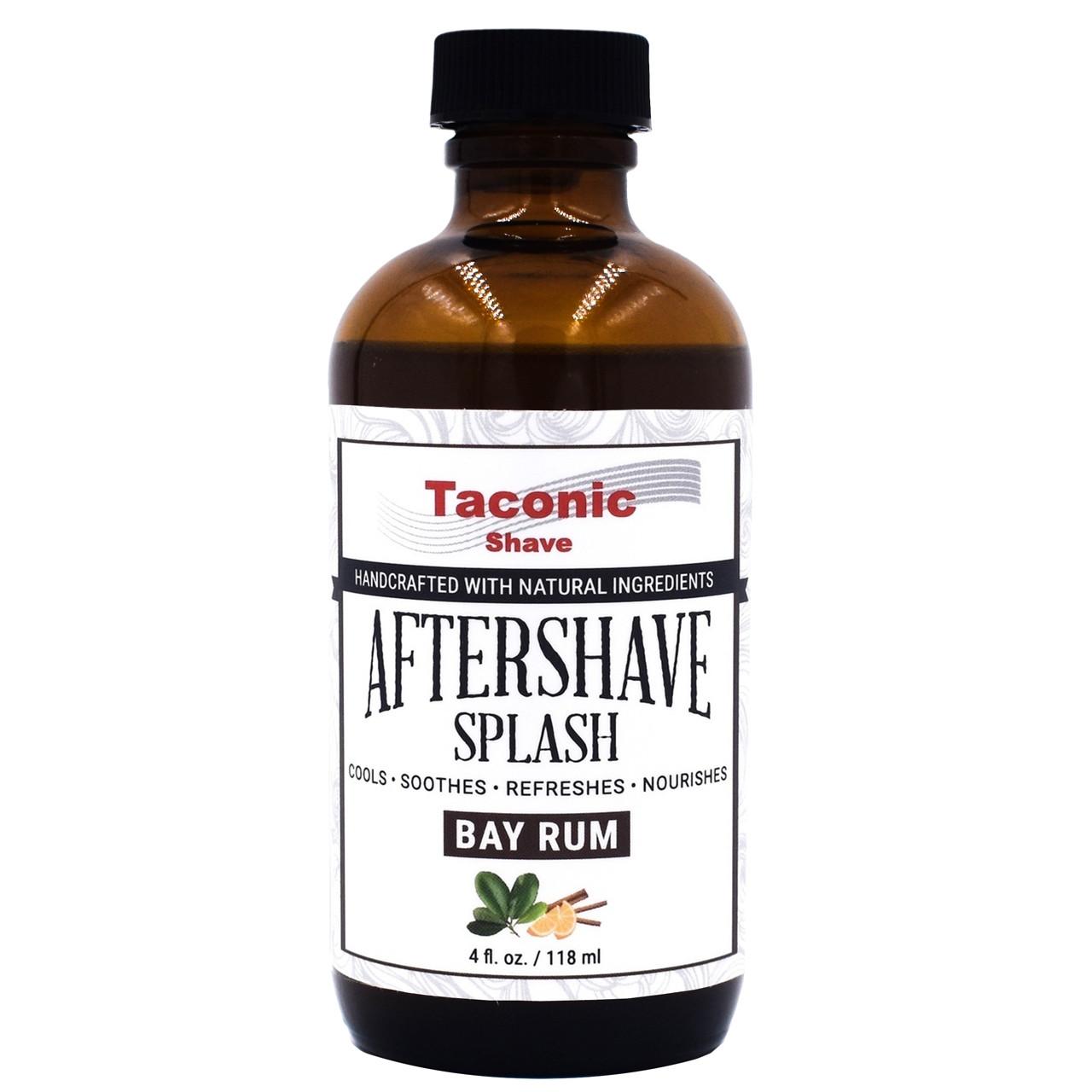 Taconic After Shave Splash, Bay Rum 4oz