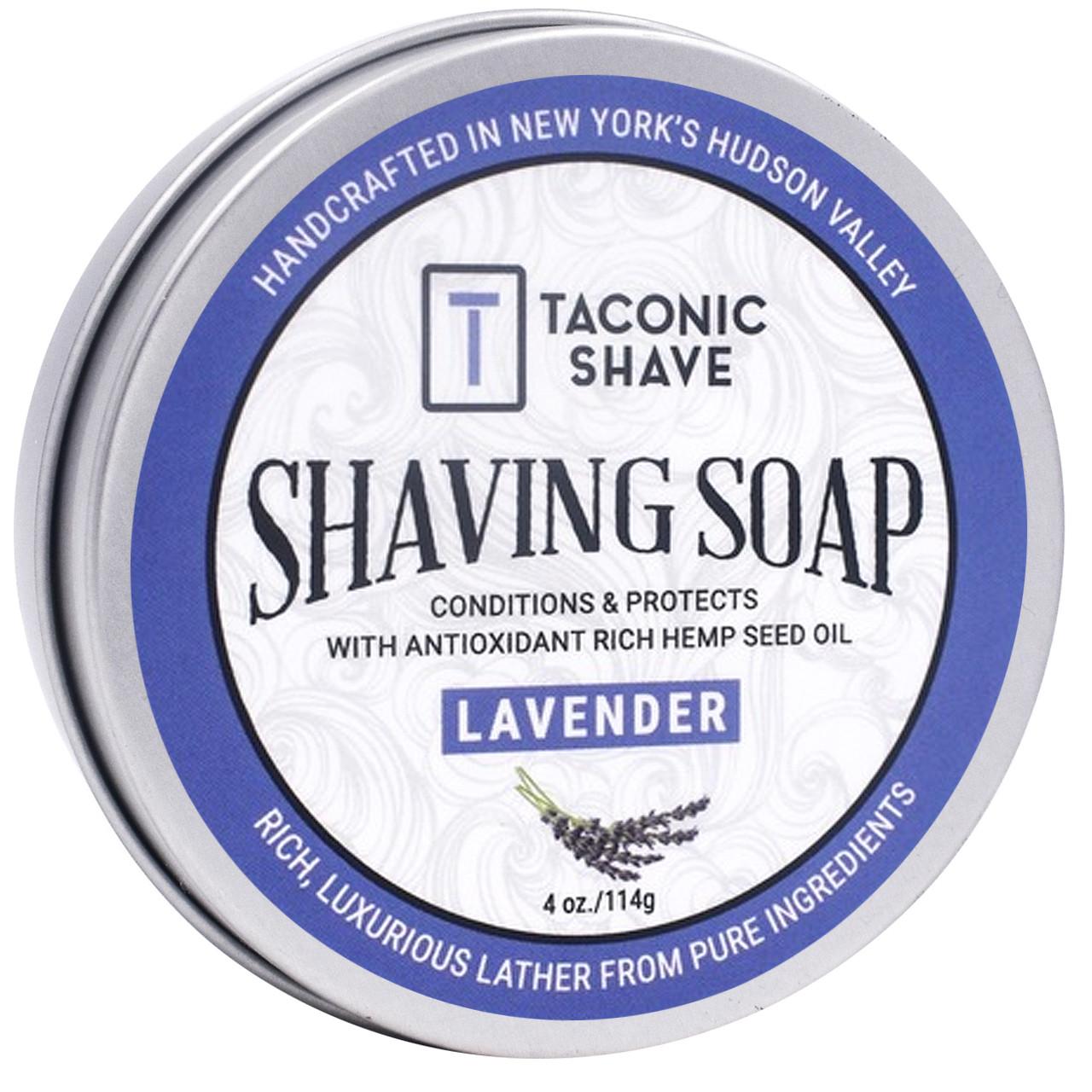 Taconic Shave Soap Lavender 4oz