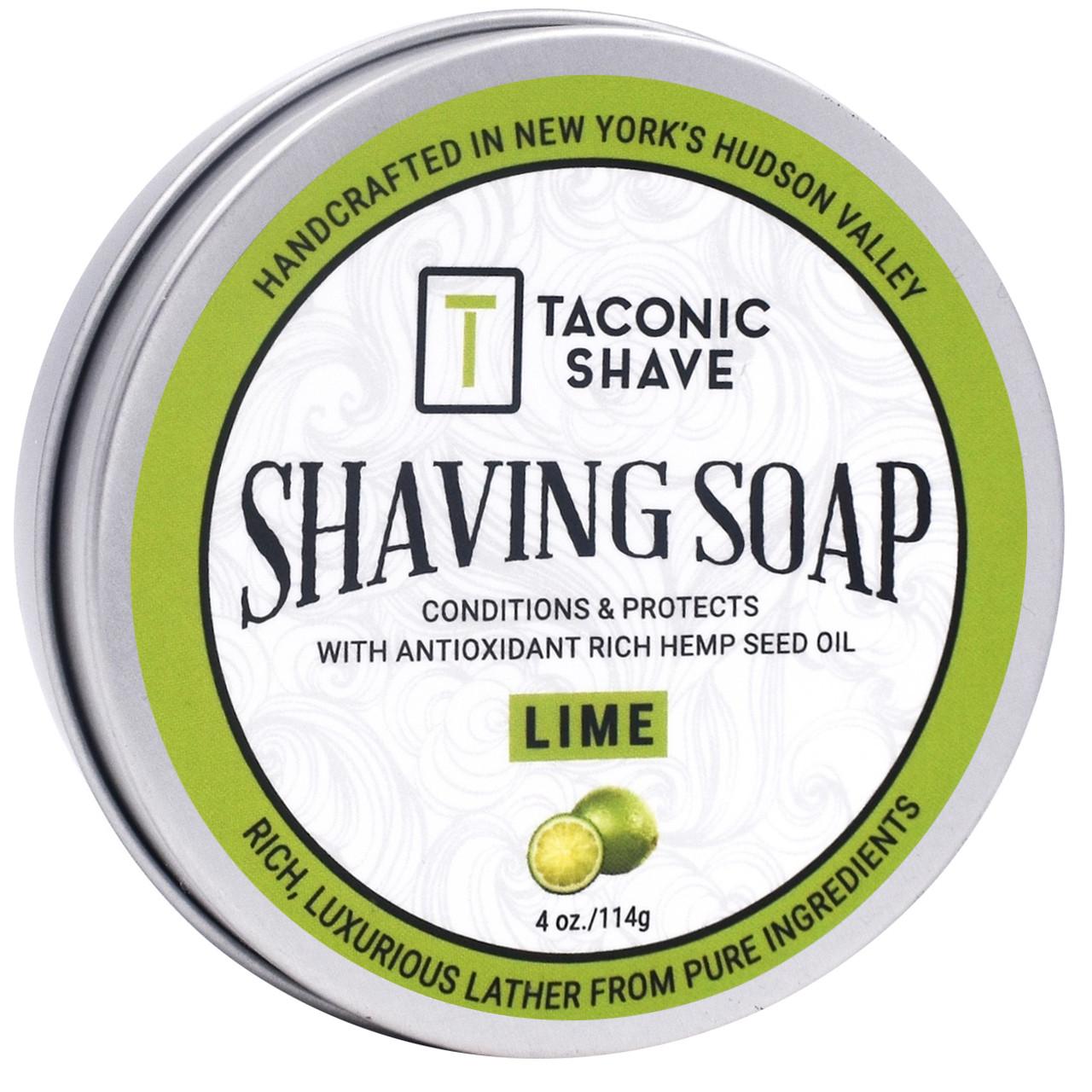 Taconic Shave Soap Lime 4oz