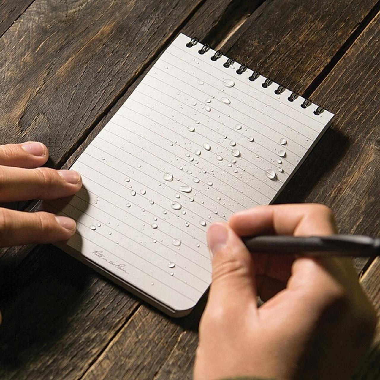 """Rite in the Rain Top Spiral Notebook 4"""" x 6"""""""