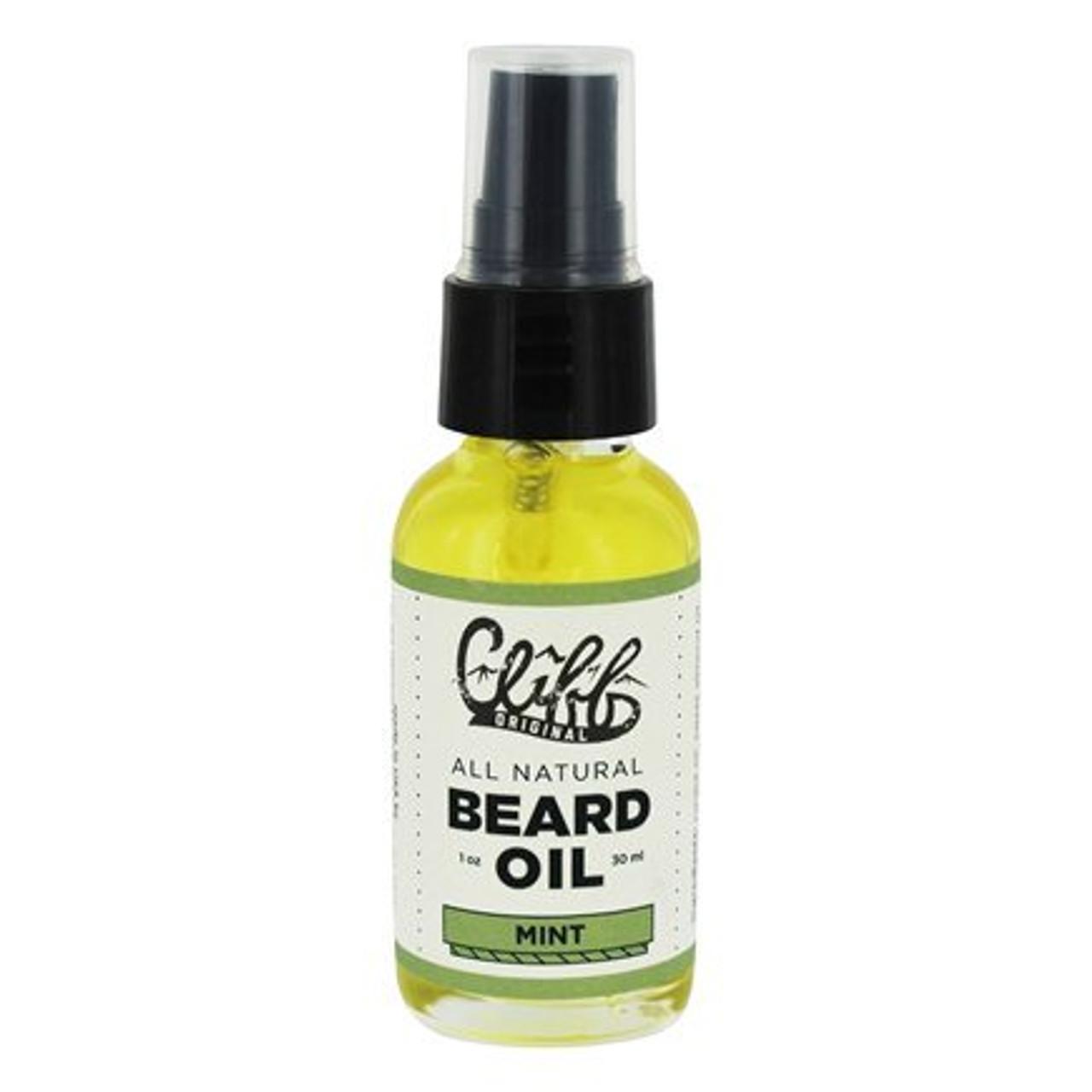 Cliff Beard Oil Mint 1oz