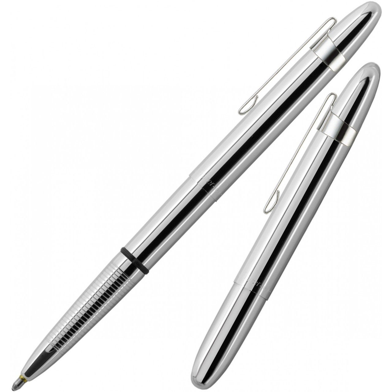 Fisher Bullet Pen Chrome w/ Clip