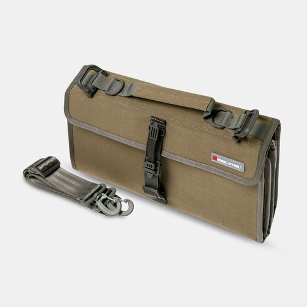 Real Steel Pilgrim 22 Knife Bag Coyote