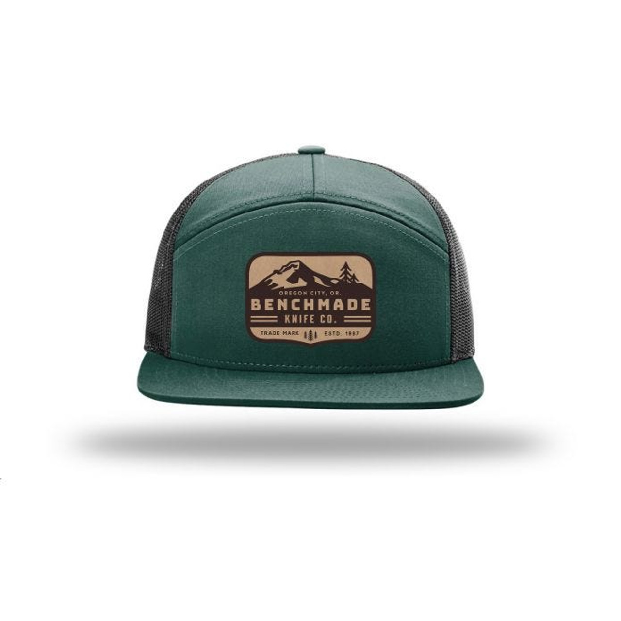Benchmade Hat 7 Panel Knife Co. Green