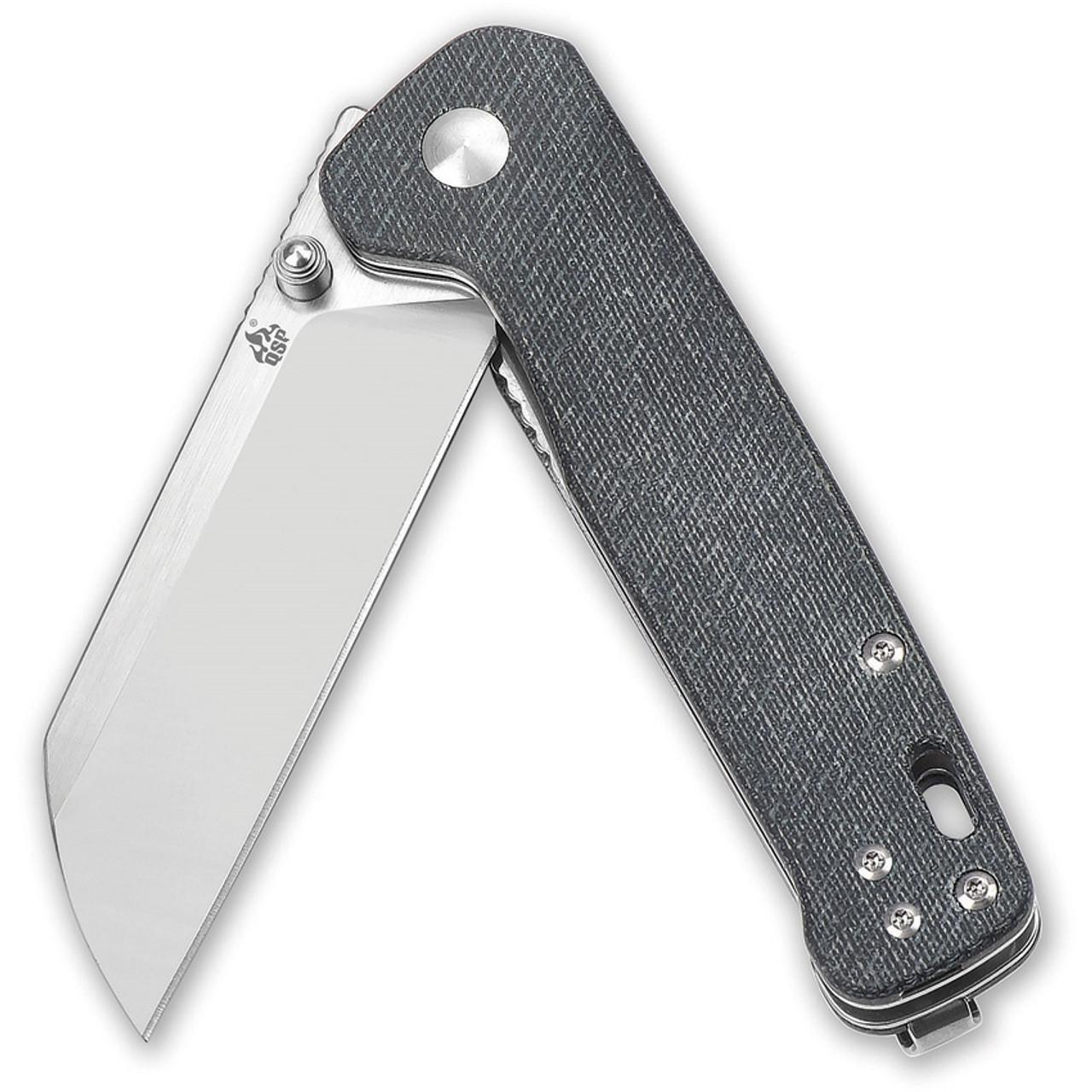 QSP QS130-B Penguin Jean Micarta D2 Blade