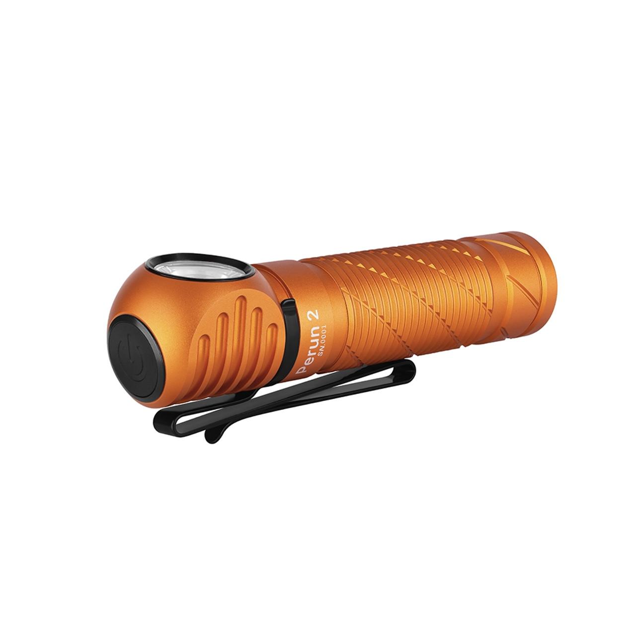 Olight Perun 2 Orange *New 2500 Lumen*Limited Edition*