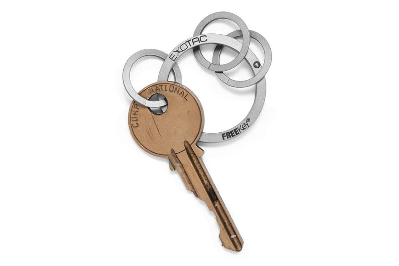 Exotac FREEKey Slim Keyring System