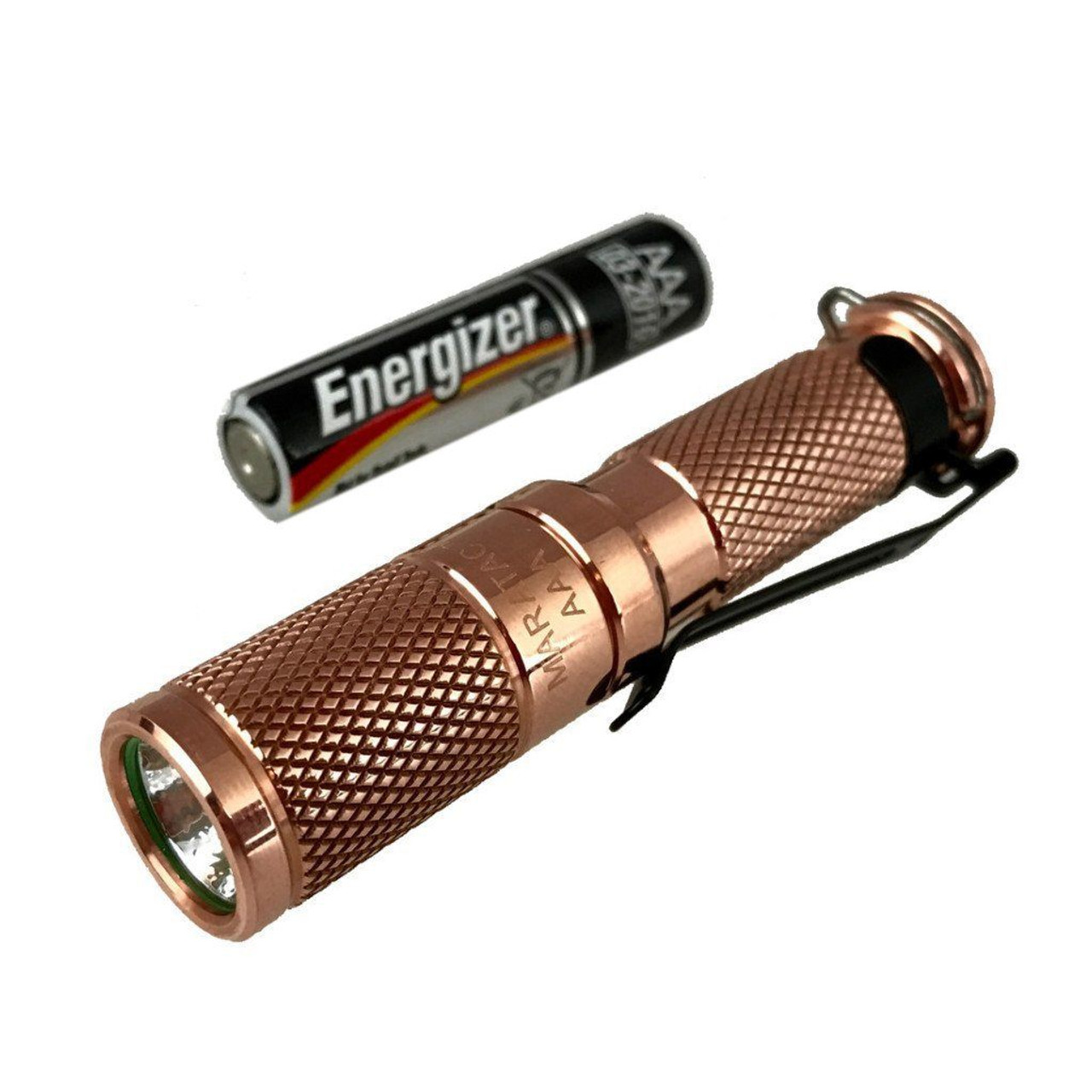 Maratac REV 6 Copper AAA Flashlight