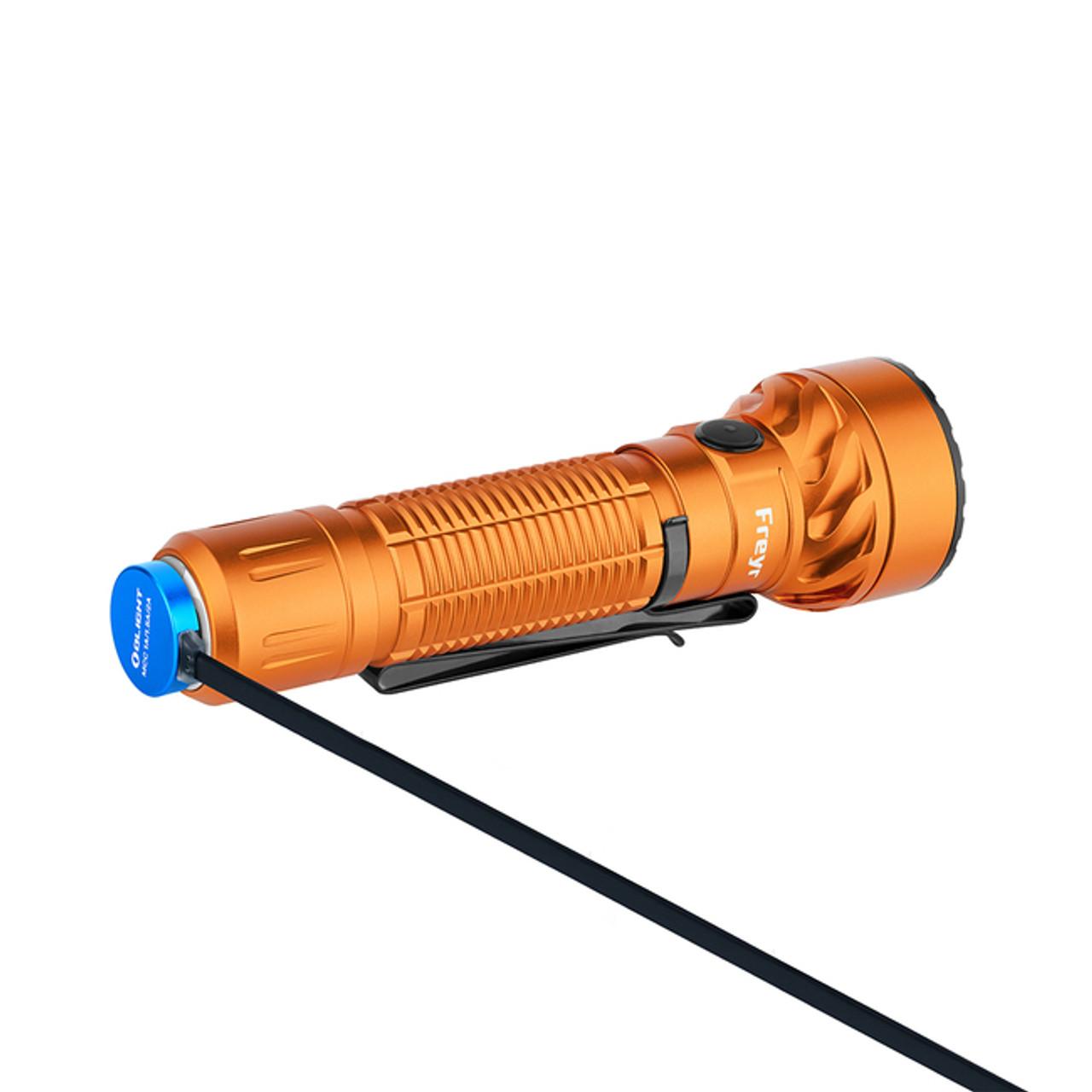 Olight Freyr Orange (Red, Green, And Blue Lights)