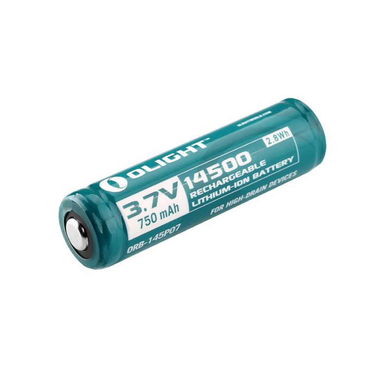 Olight 14500 Rechargeable Battery 750 mAh (AA)