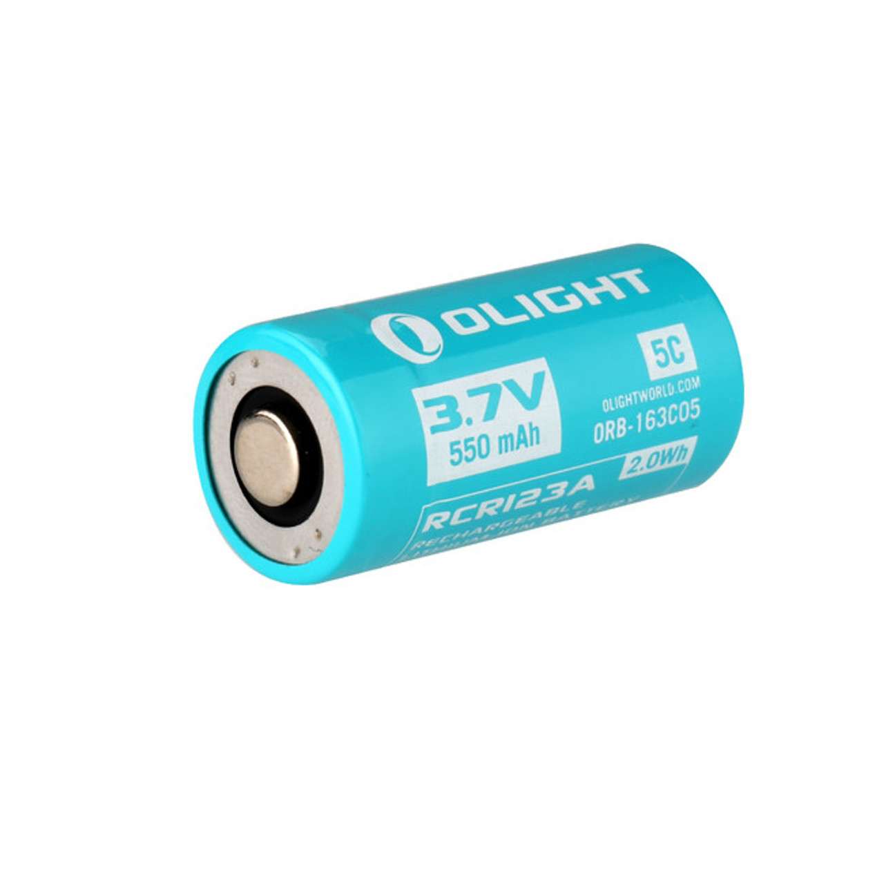 Olight CR123A Rechargeable Battery 650 mAh