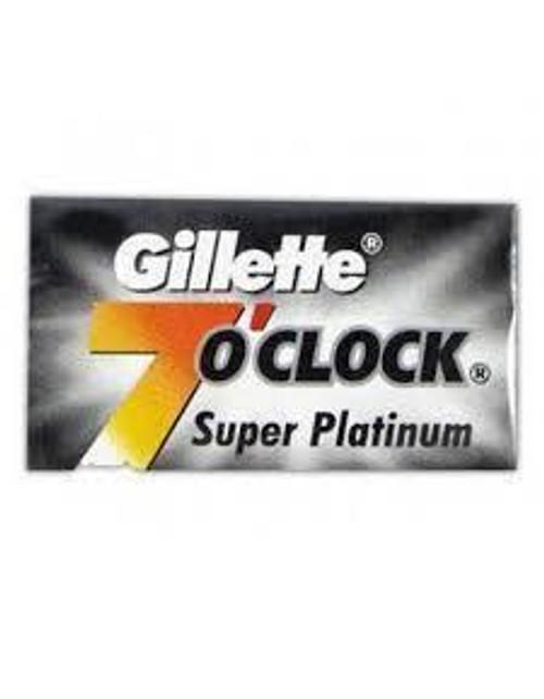 Gillette 7 O'Clock Black 10pk