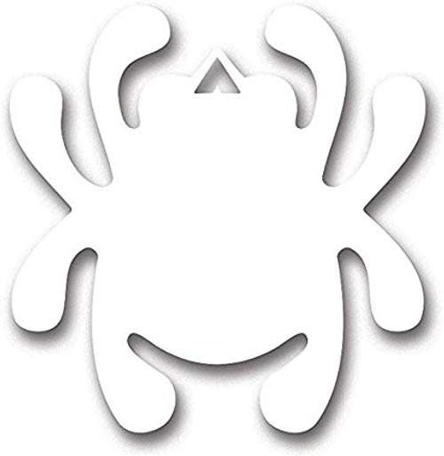 Spyderco Bug Decal White