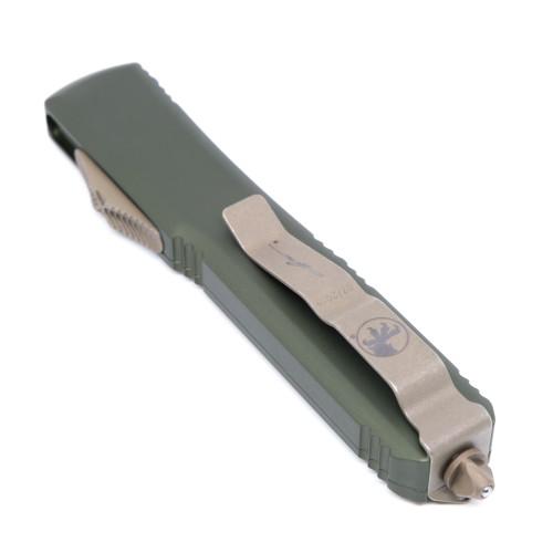 Microtech 119-13OD Ultratech Hellhound Bronze Standard OD Green