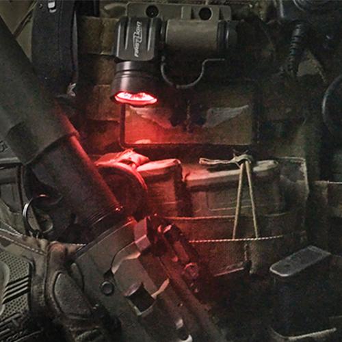 First-Light TRS MOLLE Blade Mount Black