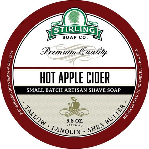 Stirling Hot Apple Cider Shave Soap 5.8oz