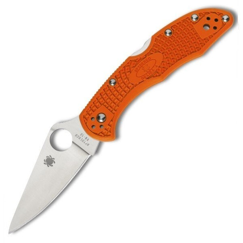 Spyderco Delica 4 Orange FG