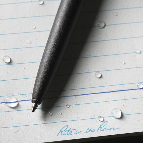 Rite in the Rain All-Weather Clicker Pen- Black
