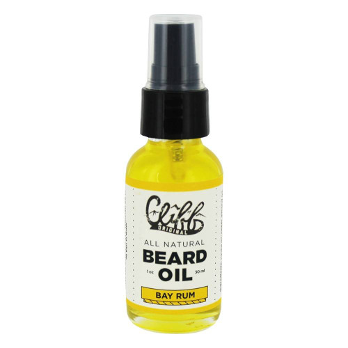 Cliff Beard Oil Bay Rum 1oz