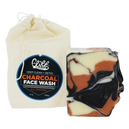 Cliff Face Wash Brick Charcoal 4oz