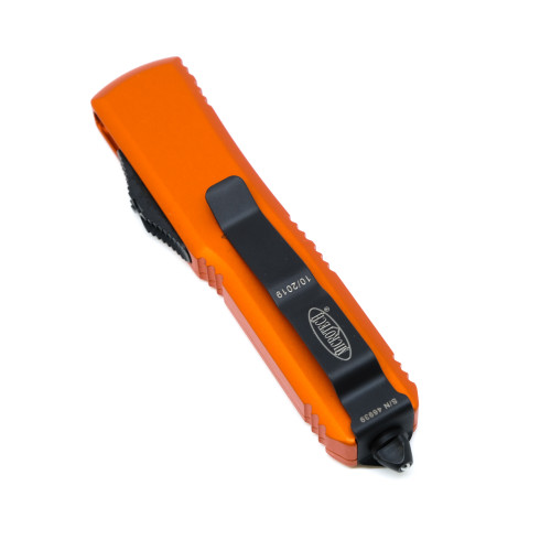Microtech 231-1OR UTX-85 Orange , Black Standard