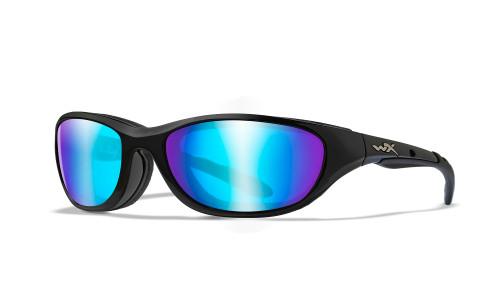 WX 698 Airrage POL Blue Mirror/Gloss Black Frame