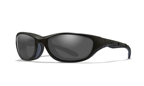 WX 694 Airrage Grey Lens/Matte Black Frame