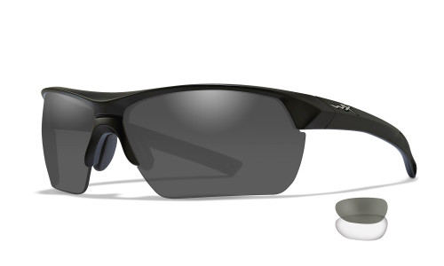 WX 4004 Guard Advanced Grey/ Clear/ Matte Black Frame