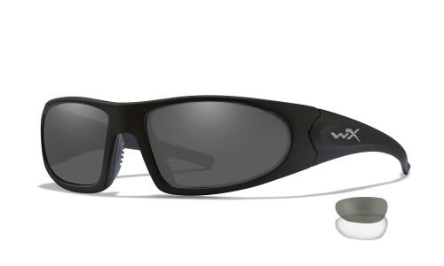 WX 1004 Romer 3 Grey/ Clear/ Matte Black Frame