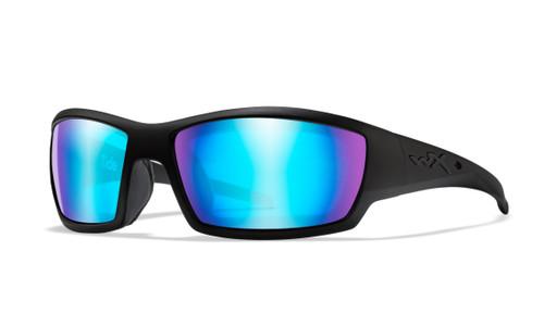 WX CCTID09 Tide POL Blue Mirror Lens/Matte Black Frame