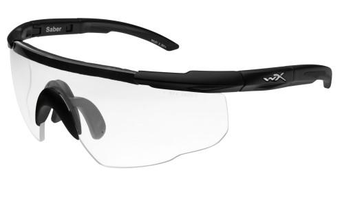 WX 303 Saber Advanced Clear Lens/ Matte Black Frame