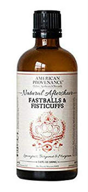 American Provenance Fastballs & Fisticuffs Natural Aftershave