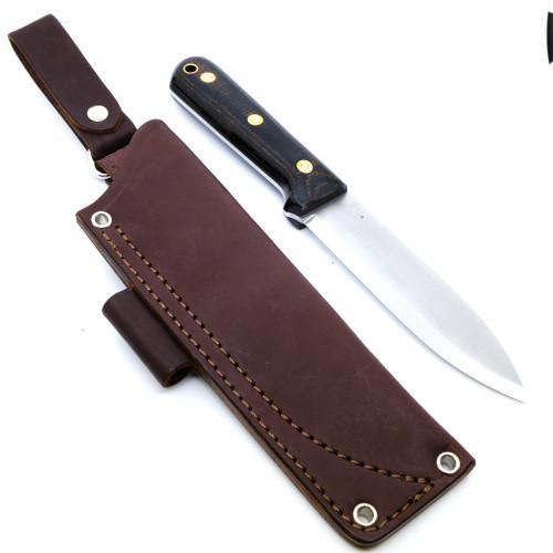 LT Wright Gen 5 A2 Scandi Brown Burlap Black Polished