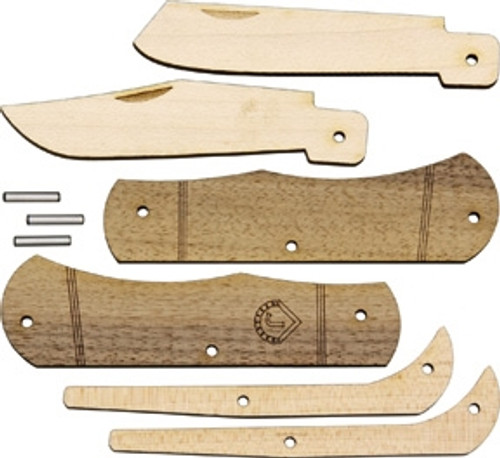 JJ's Trapper Wood Knife Kit
