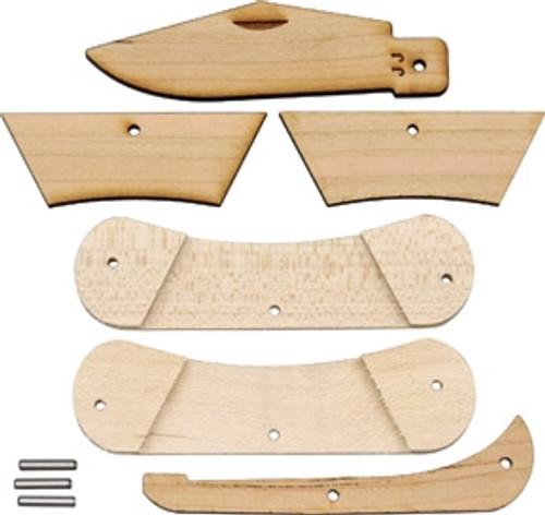JJ's Canoe Wood Knife Kit