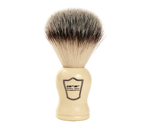 Parker WHSY Faux Ivory Handle Synthetic Bristle Brush