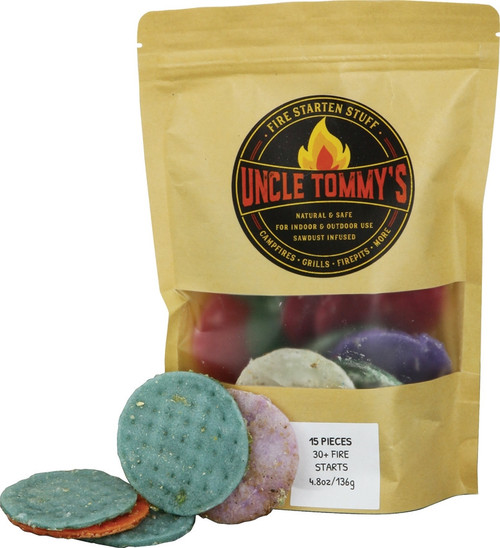 Uncle Tommy's Fire Startin' Stuff 15pc Bag