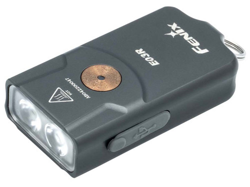 Fenix E03R Keychain Flashlight Grey