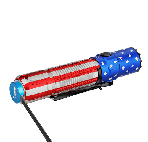 Olight M2R Pro Warrior Patriotic *LIMITED EDITION*