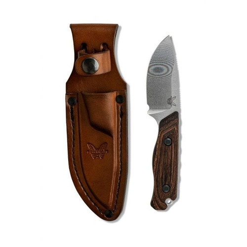 Benchmade 15017 Hidden Canyon Hunter S30V Wood Handle