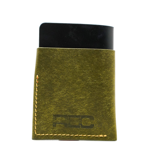 "Unfound Leather Green/Black ""REC Exclusive"" Anchor Wallet"