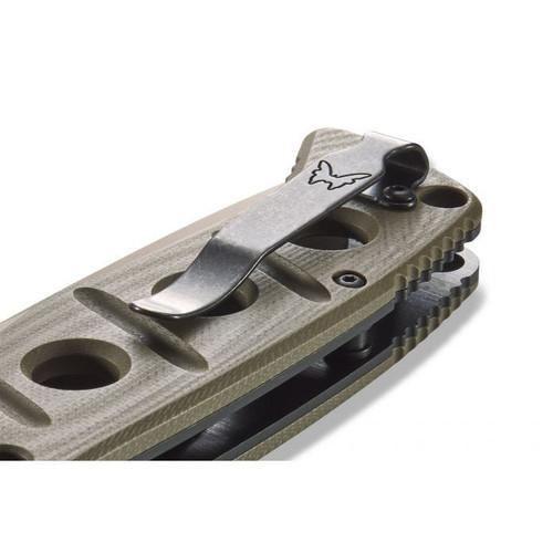 Benchmade 275FE-2 Adamas OD G10 / Flat Earth Cru-Wear