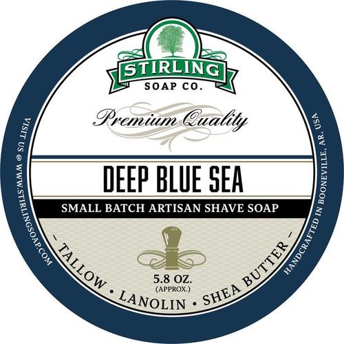 Stirling Deep Blue Sea Shave Soap 5.8oz