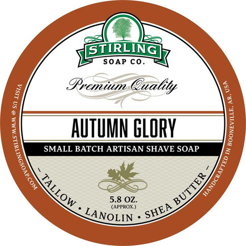 Stirling Autumn Glory Shave Soap 5.8oz