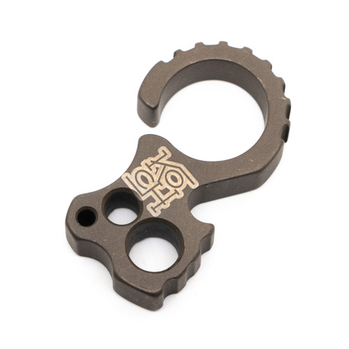 "Koch Tools Culprit 2.0 - 3/8"" Titanium Bronze Anodized"