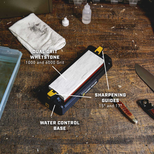 Work Sharp Whetstone Knife Sharpener