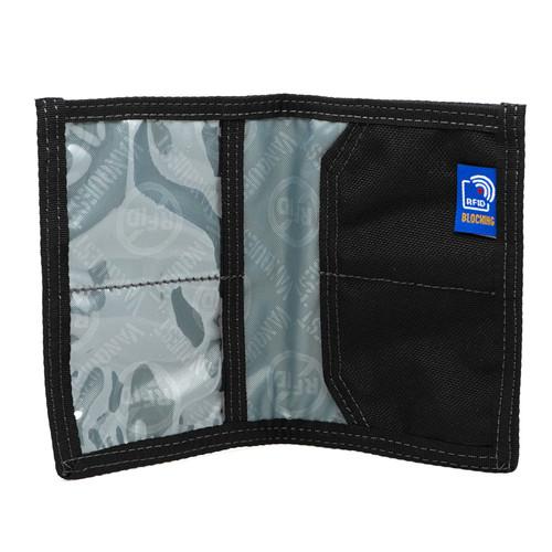 Vanquest Cache Black RFID Blocking Wallet