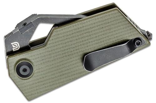 Kizer V2563A1 Cyberblade M390 Green G10